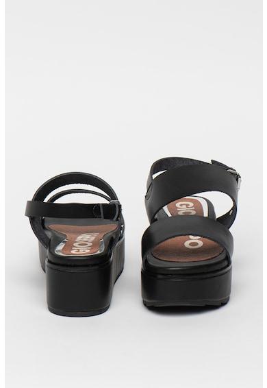 Gioseppo Sandale flatform de piele ecologica Candor Femei