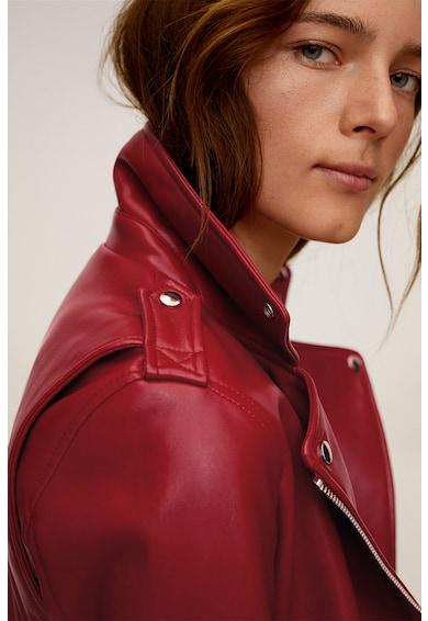 Mango Liz műbőr motoros dzseki női