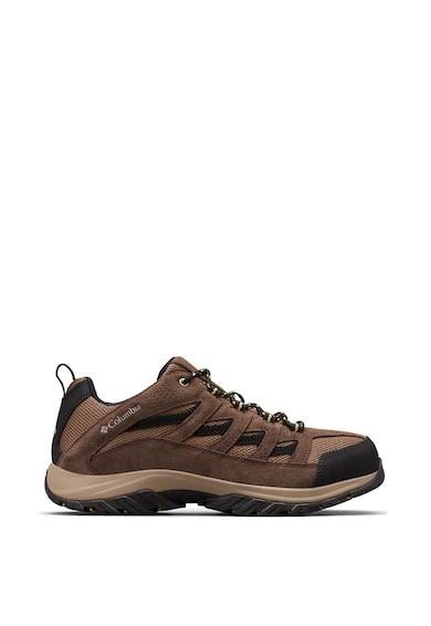 Columbia Pantofi cu insertii de piele intoarsa, pentru drumetii Crestwood Barbati