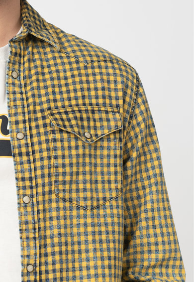 Jack&Jones Карирана риза Bluweston Мъже