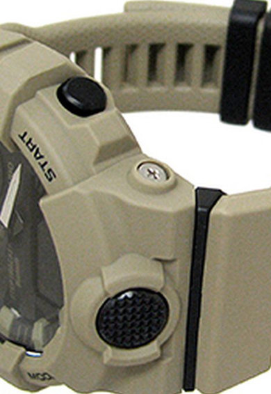 Casio Мултифункционален часовник с пластмасова каишка Мъже