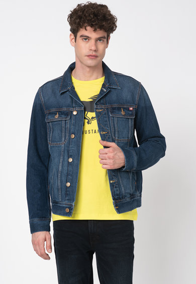 Mustang Jacheta slim-fit din denim Dean Iconic Barbati