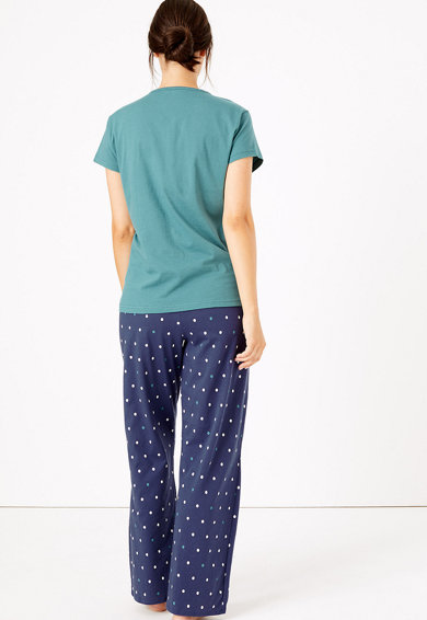 Marks & Spencer Пижама на точки Жени