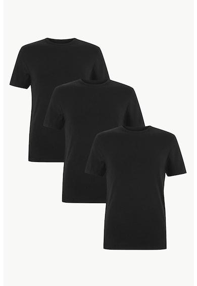 Marks & Spencer Тениски със стандартна кройка - 3 броя Мъже