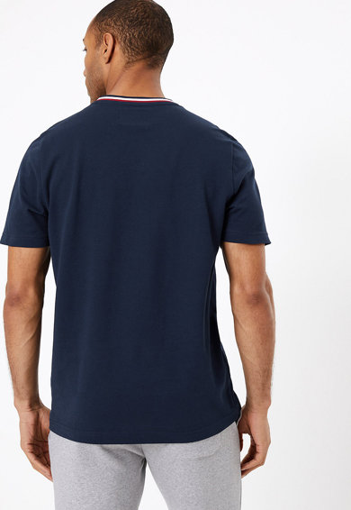 Marks & Spencer Тениска с контрастно деколте Мъже
