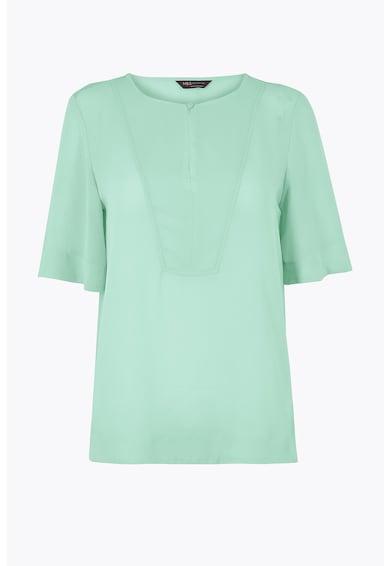 Marks & Spencer Bluza cu decolteu rotund Femei