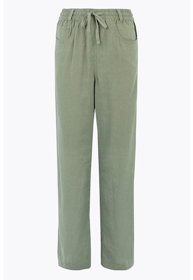 Marks & Spencer Панталон с лен Жени