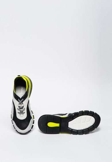 Tosca Blu Pantofi sport cu insertii de piele intoarsa si piele Priority Femei