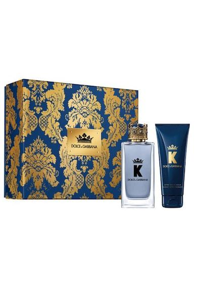 Dolce & Gabbana Set  K, Barbati: Apa de Toaleta, 100 ml + After Shave balsam, 75 ml Barbati