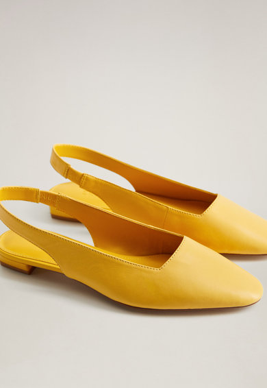 Mango Кожени обувки Cairo Жени
