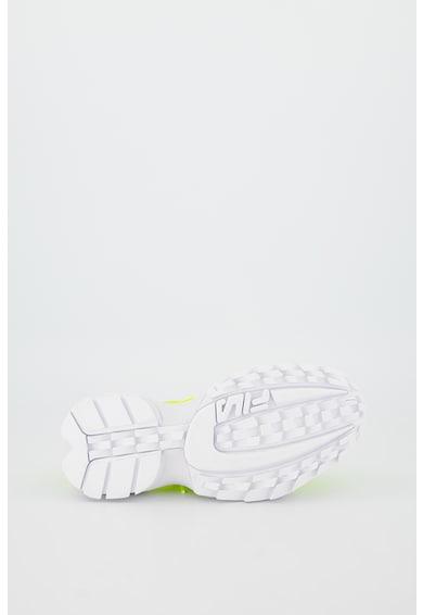 Fila Pantofi sport cu aspect masiv si model transparent Disruptor Femei
