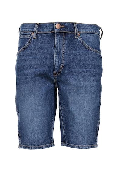 Wrangler Pantaloni scurti din denim cu aspect decolorat Barbati