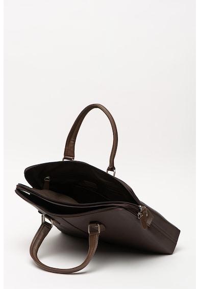 Pierre Cardin Чанта за лаптоп от еко кожа Мъже