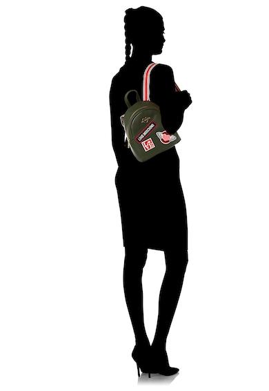 Love Moschino Раница от еко кожа с бродирани апликации Жени