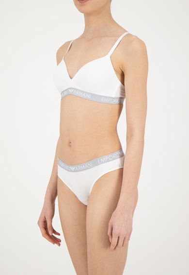 Emporio Armani Underwear Сутиен с лого Жени