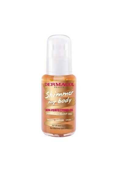 Dermacol Ulei de corp  Shimmer My Body cu particule de sclipici, 50 ml Femei