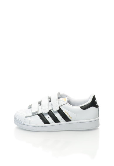 Adidas ORIGINALS Junior Superstar Foundation Fehér Bőrcipő Lány
