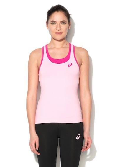Asics Top cu imprimeu logo pentru antrenament Femei