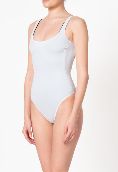 Guess Costum de baie intreg cu model reversibil Femei