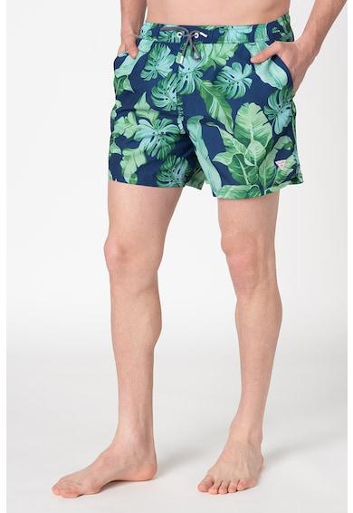 Guess Pantaloni scurti de baie cu snur de ajustare Barbati