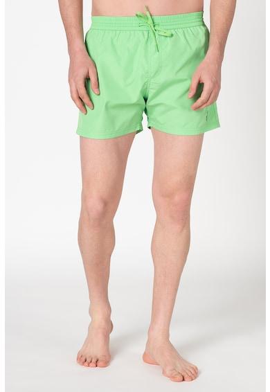 Guess Pantaloni scurti de baie cu detaliu logo discret Barbati