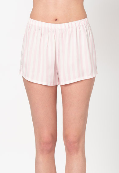 Guess Pijama cu pantaloni scurti si dungi Femei