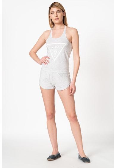 Guess Pijama cu imprimeu logo Femei