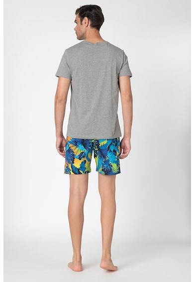 Guess Pijama de bumbac cu imprimeu Barbati