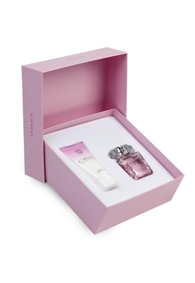 Versace Set  Bright Crystal, Femei: Apa de Toaleta, 30ml + Lotiune de corp, 50 ml Femei