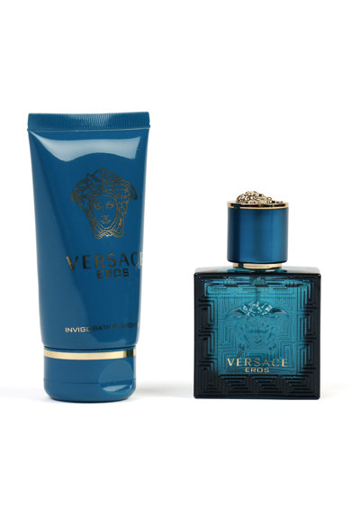 Versace Set  Eros, Barbati: Apa de Toaleta, 30 ml + Gel de dus, 50 ml Barbati