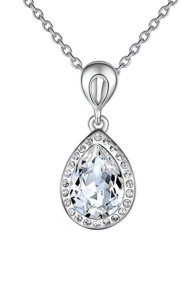 Highstreet Jewels Colier cu cristale Swarovski® Femei