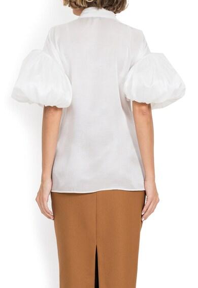 BADEN 11 Копринена риза с бухнали ръкави Жени