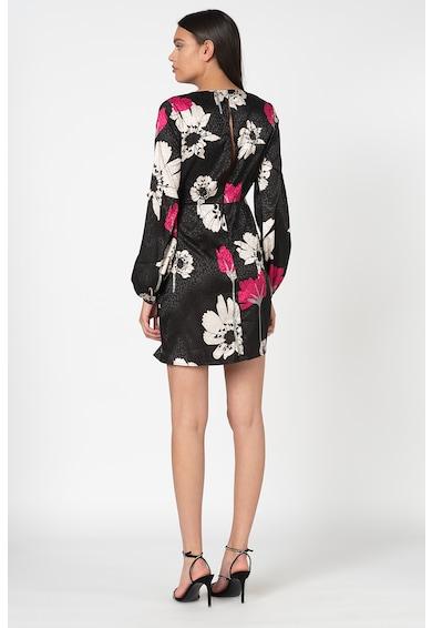 GUESS JEANS Флорална рокля с възел Жени