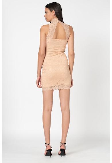 GUESS JEANS Дантелена рокля с отвор на гърба Жени