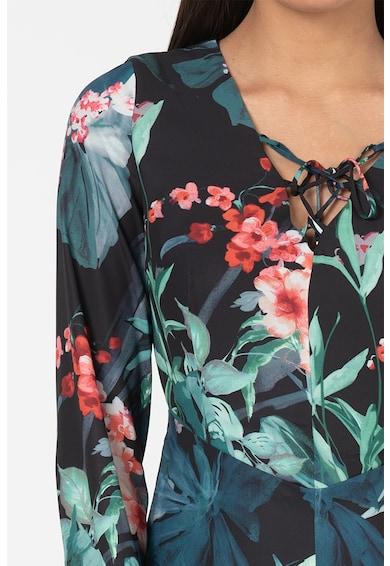 GUESS JEANS Дълга рокля с флорален десен Жени