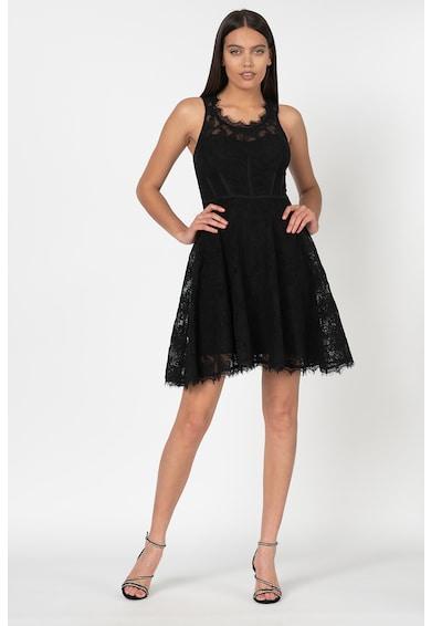 GUESS JEANS Разкроена дантелена рокля Жени
