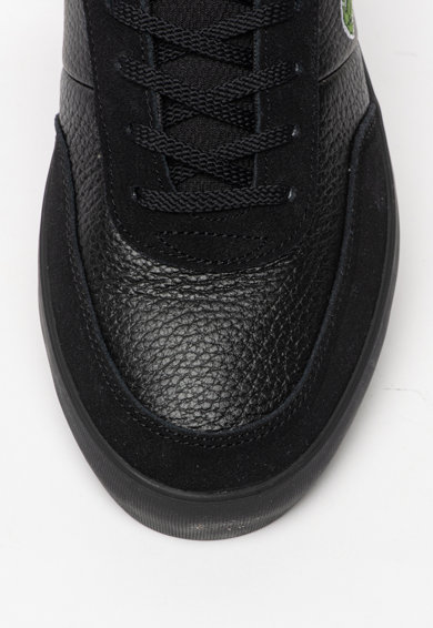 Lacoste Pantofi sport cu insertii de piele intoarsa Court-Master Barbati