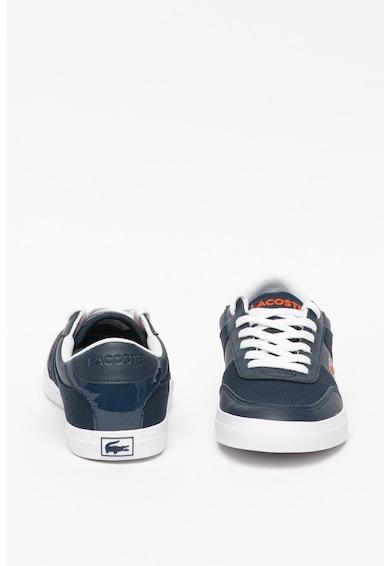 Lacoste Pantofi sport de plasa cu insertii de piele ecologica Court Master Baieti
