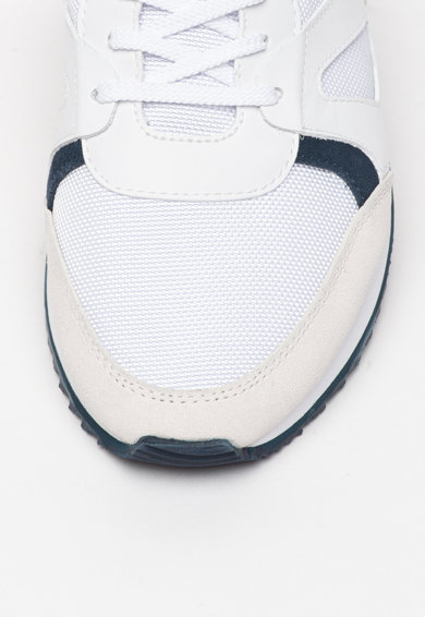 Lacoste Pantofi sport de piele si piele intoarsa, cu insertii de plasa Aesthet Barbati