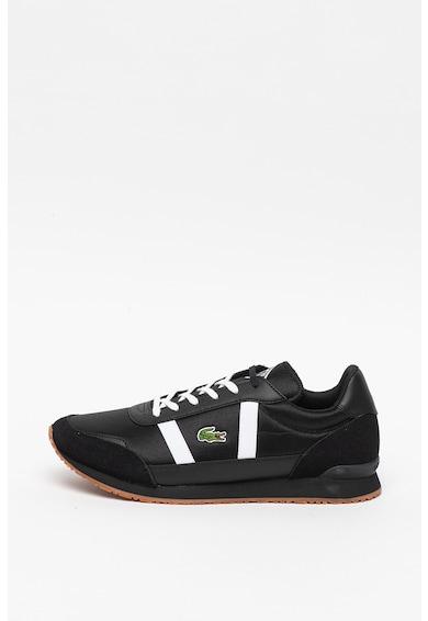 Lacoste Pantofi sport cu insertii de piele intoarsa Partner Barbati
