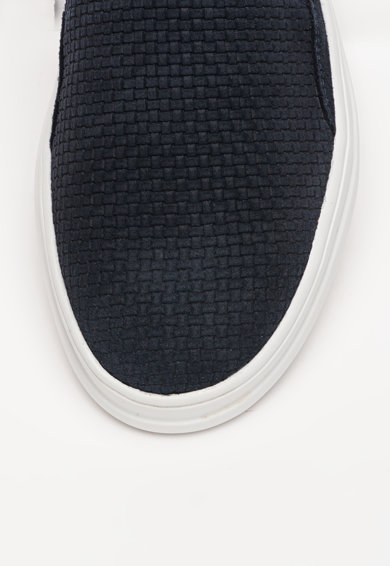 Geox Велурени спортни обувки Tayrvin Мъже