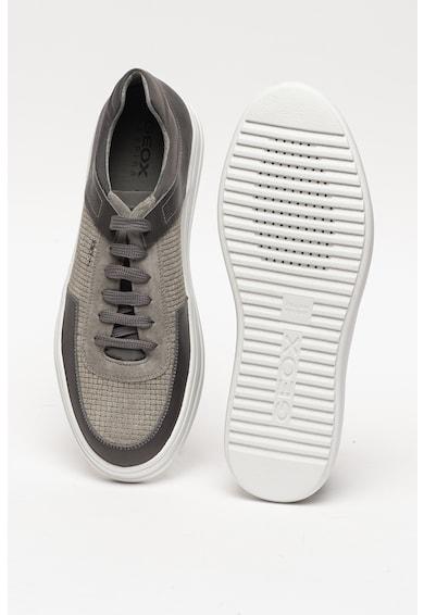 Geox Спортни обувки Tayrvin с велур и кожа Мъже