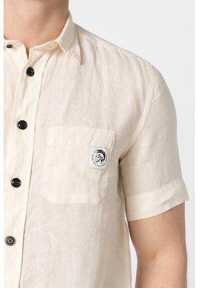 Diesel Ленена риза S-Kiruma с къси ръкави Мъже