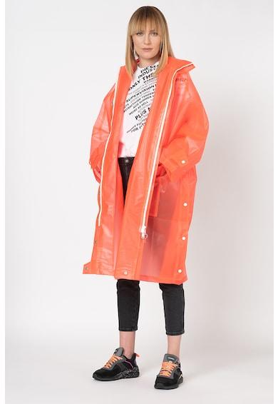 Diesel Pelerina de ploaie cu aspect mat si cu gluga G-Taky Femei