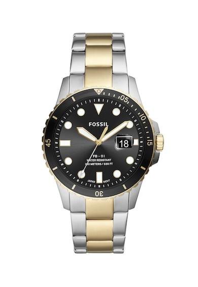 Fossil Часовник FB-01 с верижка от инокс Мъже