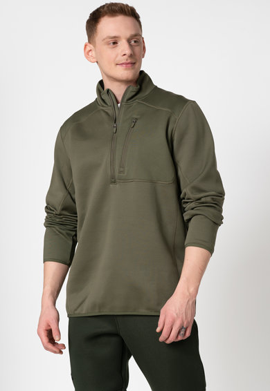 Under Armour Фитнес блуза с къс цип Мъже