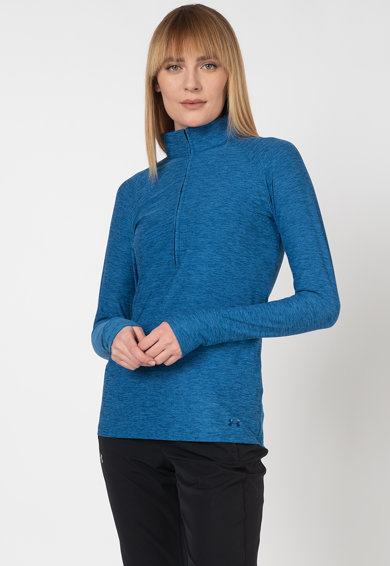 Under Armour Фитнес блуза Zinger с къс цип Жени