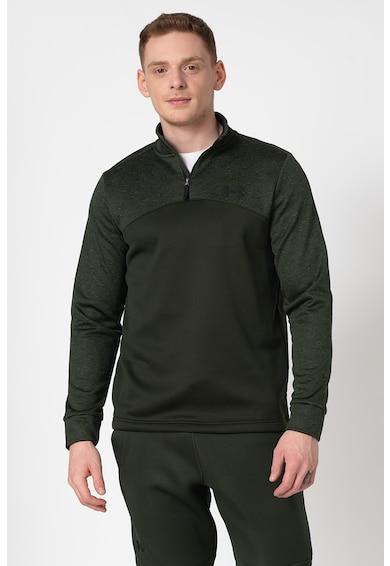 Under Armour Непромокаема спортна блуза с къс цип Мъже