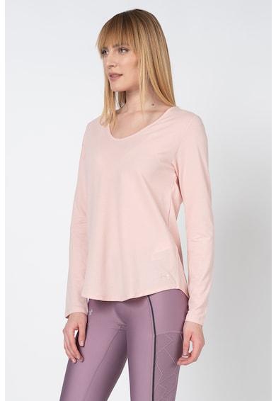 Under Armour Спортна блуза с отвор на гърба Жени