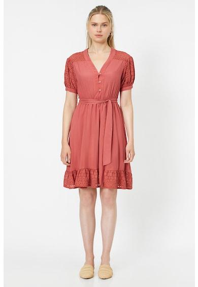 KOTON Разкроена рокля с гипюрена дантела Жени